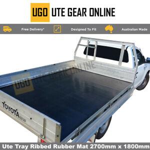 Rubber Ute Matting Van Floor and Tray Non Slip Mat 2700mm x 1800m