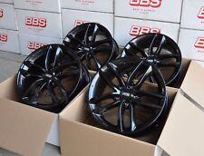 BBS SX NERO 4 CERCHIONI 8x18 pollici et44 sx0103 per Seat Leon Tipo 1p + 5f