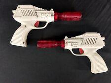 Lot of 2 Vintage Radio Shack 60-1072 Galactic Space Pistol Laser Guns