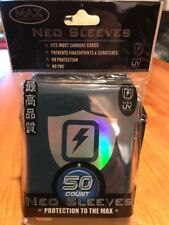 Max Protection Neo Sleeves from Box   Dark Blue Color  7050L HAS    NEW
