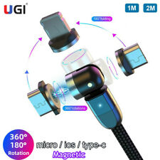 2020 NEW Magnetic Cable Type C Micro USB Charger Cord for iPhone Samsung Phone