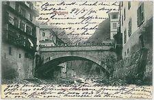 CARTOLINA d'Epoca SONDRIO - Morbegno  PONTE 1904