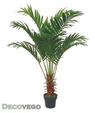 Palmenbaum Palme Arekapalme Kunstpflanze Künstliche Pflanze 140cm Decovego