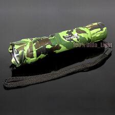 UltraFire Tactical 501B CREE XM-L T6 LED 3Mode 18650 Camouflage Green Flashlight