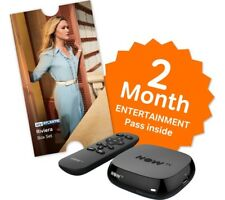 Now TV HD Box con * Sky Entertainment 2 mese PASS * e privo di £ 5.49 MOVIE PASS