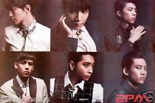 "2PM ""6 HEAD SHOTS"" ASIAN POSTER- Korean Boy Idol Band, K-Pop, Hip-Hop, R&B Music"