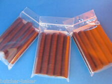 21 mm Snack Stick CASINGS for 75 lbs Edible Collagen Slim Jims Pepperoni sausage
