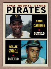 Donn Clendenon & Willie Stargell '62 Pittsburgh Pirates rookies Pastime series