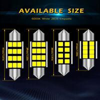 10x 31 36 39 41mm Car Interior Light Number Plate Bulb C5W Festoon LED Bulbs UK