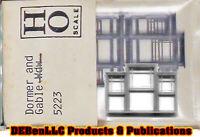 GABLE AND DORMER WINDOW Set - 4pcs (NOS) Grandt Line Products HO Fine Scale