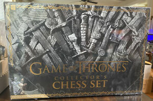 Game of Thrones Collector's Chess Set HBO White Walkers vs Westeros New Sealed