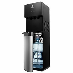 Avalon Bottom Load Water Cooler 3 Temp, Stainless/Black
