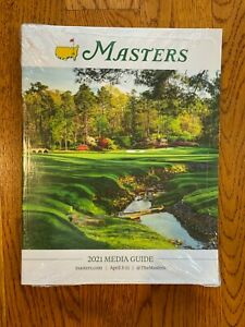 2021 Augusta National Masters Media Guide - NEW