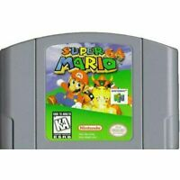 Super Mario 64 - Nintendo N64 Game Authentic