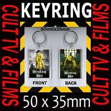 BREAKING BAD - USA CULT TV –KEYRING – KEY CHAIN 35 X50 MM