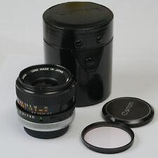 Canon FD Objektiv 3,5/35 S.C.