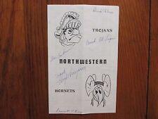 1978 Northwestern College Football Program(49 Sign/LLOYD  THOMPSON/ROSS  ULRICH)