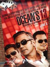 Cinema Banner: OCEAN'S 13 2007 George Clooney Brad Pitt Matt Damon