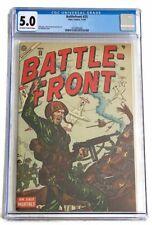 1954 BATTLEFRONT #25 CGC 5.0 SINGLE HIGHEST GRADED! ATLAS COMICS War Comic VG/FN