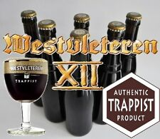 /! Very RARE /! 6 Belgian Trappist beer bottles of Westvleteren 12 XII GOLD B