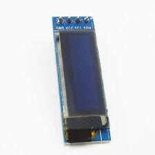 "1PCS IIC I2C 0.91""128x32 Blue OLED LCD Display Module FOR AVR Arduino"
