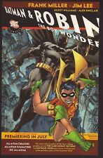 """Batman & Robin: The Boy Wonder""--2005 DC All Star Comic Book Advertisement"