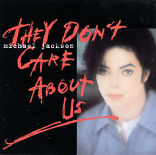 They Don't Care About Us [#1] [Maxi Single] by Michael Jackson (CD, Apr-1996,...