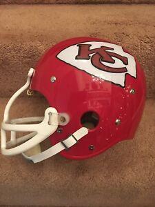 TK Vintage Style Kansas City Chiefs Bobby Bell Football Helmet Dungard DG-120
