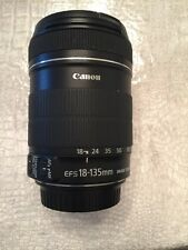 Canon EFS 18-135mm Macro 0.45m/1.5ft Image Stabalizing Lens