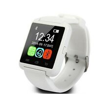 Smartwatch U8 Bluetooth Orologio per Android Samsung iPhone iOS Windows bianco