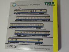 Trix N Art 15860.001 Schnellzugwagenset 5teil Rheingold wilde 13 Neu/ovp