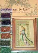 Lavender & Lace Counted Cross Stitch Chart Pattern Celtic Summer #56
