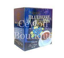 Mlesna Ceylon Tea - Blueberry Flavored Tea - Ceylon Tea in Luxury Tea Bags