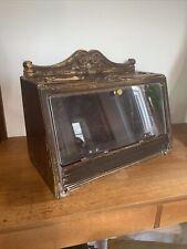 More details for vintage irish cigar shop display cabinet