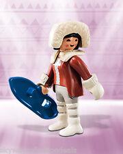 Special Playmobil figure.Eskimo Igloo Arctic Native Woman.FI?URES Series.NEW.