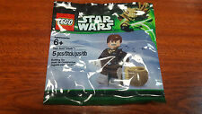 "LEGO STAR WARS Minifig ""HAN SOLO"" (Hoth) Polybag 6043748 Minifigure RARE NEW !!"