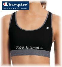 Champion The Absolute Workout Double Dry Sports Bra B1251, Black, XLarge