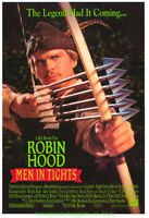ROBIN HOOD Men In Tights MOVIE POSTER SS Original 27x40  CARY ELWES MEL BROOKS