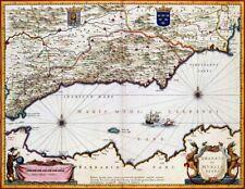 Reproduction carte ancienne - Grenade et Murcie (Granada y Murcia) 1635