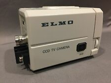 Nib Elmo Teb4404 Ccd Tv Surveilence Camera B/W B&W 9698-1 12V Dc 24V Ac