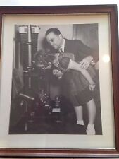 J. EDGAR HOOVER WITH SHIRLEY TEMPLE 8X10  PHOTO