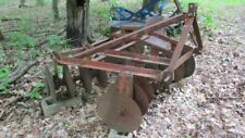 Disc Harrow by the Independent Mfg. Co. of Neodesha Kansas.  3 - Pt. 5 Foot