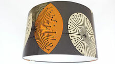 "12"" GREY LAMPSHADE HANDMADE IN UK WITH  Sanderson Wallpaper  DANDELION CLOCKS"