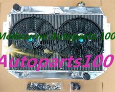 For HOLDEN KINGSWOOD RADIATOR+FANS TORANA HQ HJ HX HZ V8 CHEVY ENGINE AT