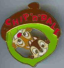 Disney Chip & Dale Japan M&P Shops Acorn Autumn Pin