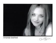 *AMANDA SEYFRIED SIGNED PHOTO AUTHENTIC AUTOGRAPH MEAN GIRLS TED 2 IN TIME GONE*