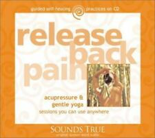 Release Back Pain Sounds True Acupressure & Gentle Yoga (CD) SHIPS NEXT DAY