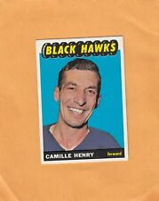 1965-66 TOPPS CAMILLE HENRY NO:58  near mint