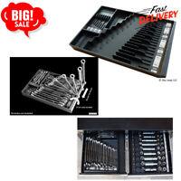 Tool Sorter Wrench Organizer Chest Drawer Storage Tray Tools Portable Box Black