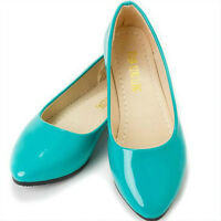 Women Ladies Ballerina Ballet Flats Loafers Casual Dolly Pump Slip On Boat Shoes